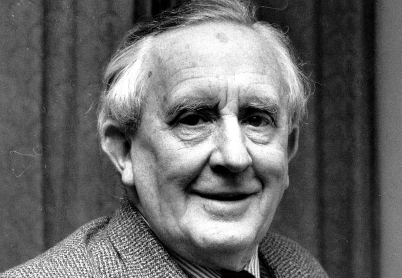 """This is a 1967 photo of J.R.R. Tolkien.  Tolkien is the author of """"The Lord of the Rings"""" and an Oxford University Professor.  (AP Photo)"""